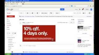 How to attach a link to an image in Gmail