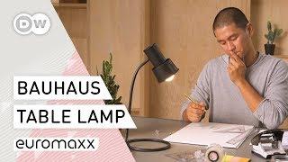 How To Bauhaus – How to Build a Table Lamp   Bauhaus Design Idea   DIY Project