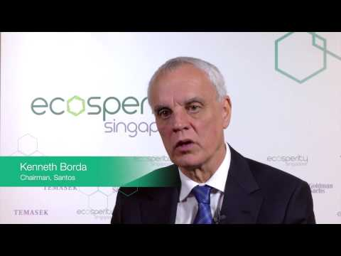 Kenneth Borda, Chairman of Santos (Energy)