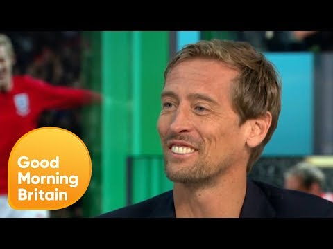 Peter Crouch On the Popularity of 'the Robot' | Good Morning Britain