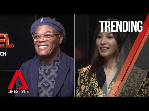 Captain Marvel interviews: Samuel L Jackson and Gemma Chan tell all in Singapore | CNA Lifestyle