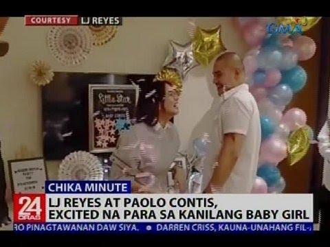 LJ Reyes at Paolo Contis, excited na para sa kanilang baby girl