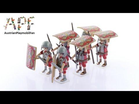 Vidéo PLAYMOBIL History 5393 : Bataillon romain