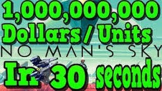 NO MAN'S SKY UNLIMITED MONEY IN SECONDS!! HACK/CHEAT