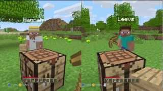 Minecraft: Xbox 360 Edition (Split-Screen) | Part 1 | GOING IN BLIND