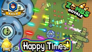 Zombs Royale - Happy Alien Time! - High K/D for a Regular Solo Match!