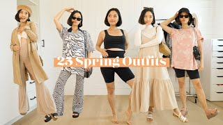 25 Spring Outfits | Pregnancy Lookbook by Clothes Encounters