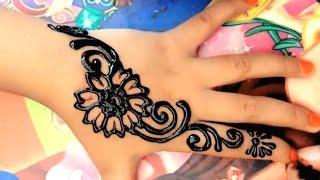 Gambar Henna Kaki Yang Mudah Ditiru