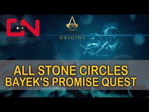 ac origins all stone circles bayek s promise quest