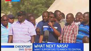 NASA leaders dare the government to arrest Raila Odinga