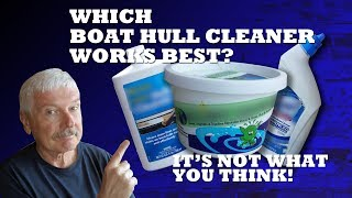 Which Boat Hull Cleaner Works Best? #boatcleaner #hullcleaner #slimygrimy #boating