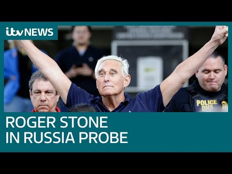 Donald Trump associate Roger Stone pleads not guilty to seven Russia probe charges| ITV News