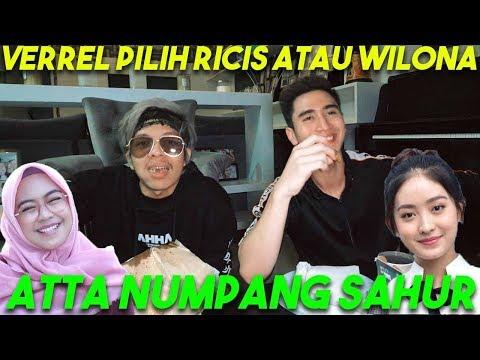Download VERREL PILIH RICIS ATAU WILONA?! Atta Numpang SAHUR! HD Mp4 3GP Video and MP3