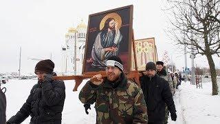 Крестный ход против абортов в Могилёве