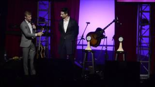 Backstreet Boys Brian Littrell and Kevin Richardson Kentucky Music Hall of Fame speeches