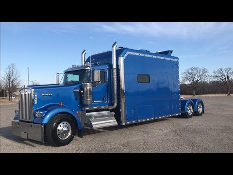 "2016 Kenworth W900 ICT 180"" Custom Sleeper Mp3"