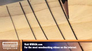 Woodworking Tools: Power Tools - Choosing the Right Blade for Your Scroll Saw