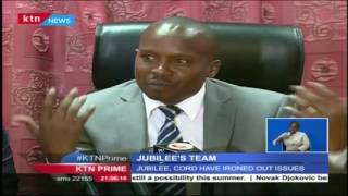 MP Kuria's name is retained in Jubilee's selected team to address IEBC stalemate