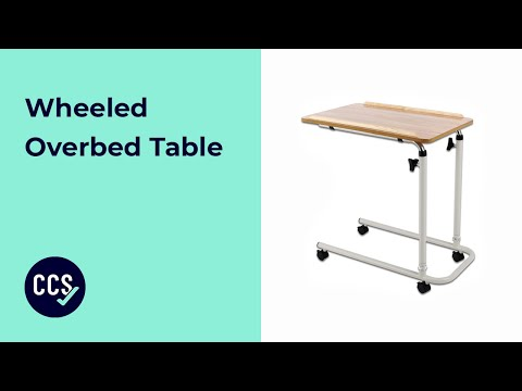 Overchair Wheeled Table Assembly Guide