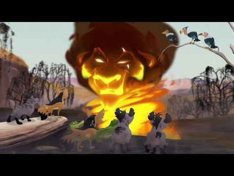 Lion Guard:  Scar's Scheme & Meeting Laini | The Kilio Valley Fire HD Clip