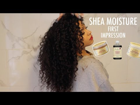 First Impression: Shea Moisture Strengthen & Restore Products