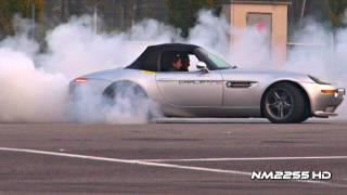 Modified BMW Z8 Burnout and Revs!