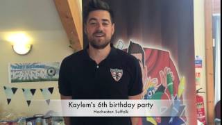 Kaylem's 6th birthday party