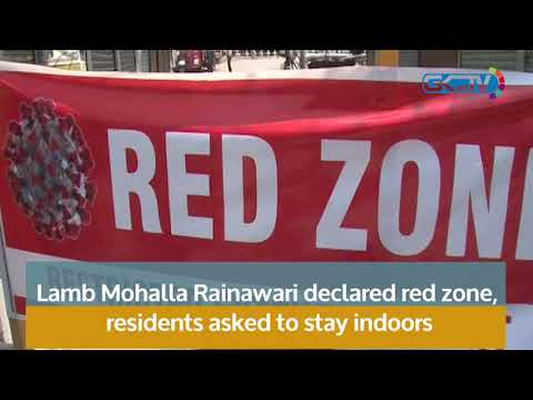 Lamb Mohalla Rainawari declared red zone, residents asked to stay indoors