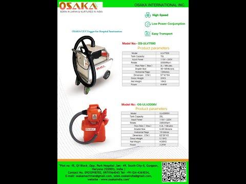 UlV Fogger Machine for Hospital sanitizer