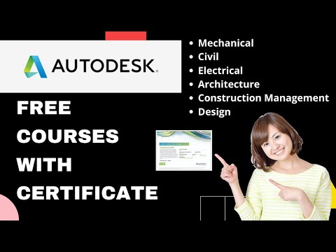 Autodesk Free Courses with Certificate | Autodesk Free Software