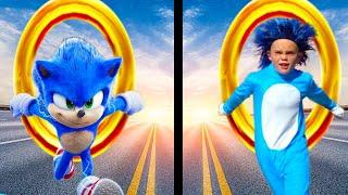 Sonic the Hedgehog VS Dr. Robotnik! Race for the Giant Golden Ring!