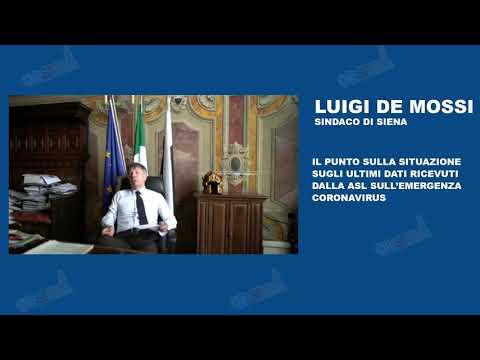 Luigi De Mossi fa il punto sull'emergenza Coronavirus - 11/04/2020
