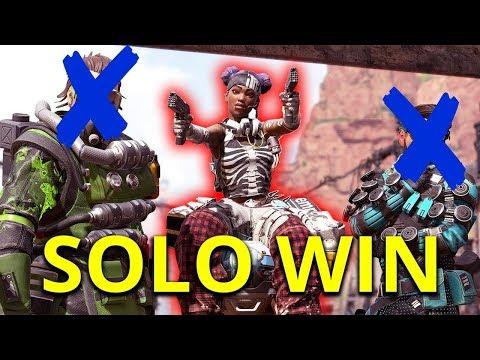 kurdish apex legends solo win? يارى ابيكس لجند سولو