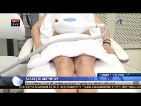 Slabeste definitiv cu criolipoliza la clinica Fazzada