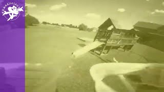 Vintage 2s Whoop FPV Flight - Ancient Technology Nowadays - Playground Swings Sepia Toned Acro Drone