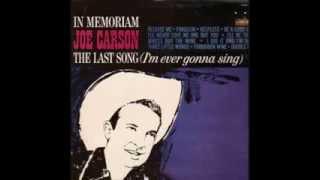 Joe Carson  - Forbidden Wine