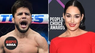 Henry Cejudo shoots his shot with Nikki Bella, she responds | Ariel Helwani