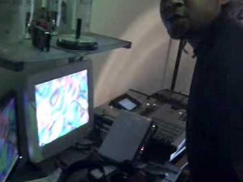 Payru P in studio
