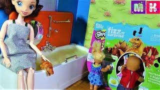 КОРОЧЕ ГОВОРЯ ФИЗН СЮРПРИЗН. КАТЯ И МАКС ВЕСЕЛАЯ СЕМЕЙКА #Мультики с куклами#Барби