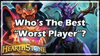 "Who's The Best ""Worst Player""? - Boomsday / Hearthstone"