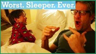 Worst. Sleeper. Ever. | The Holderness Family