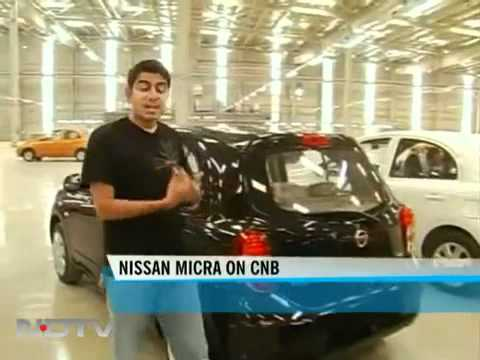 Nissan Micra production video on NDTV CBS