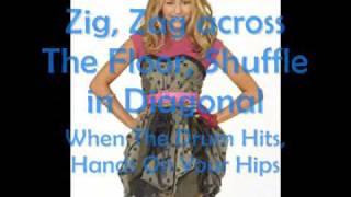 Hoewdown Throwdown / ZigZag Miley Cyrus Hannah Montana The movie With lyrics on screen HQ