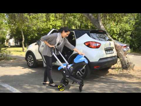 the world's first infant car seat with a complete and fully integrated mobility solution.