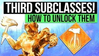 DESTINY 2 PC | How to Unlock a Third Subclass: Sunbreaker, Nightstalker & Stormcaller Quests!