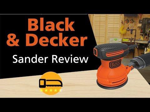 Black and Decker Orbital Sander Review BDERO100 👍