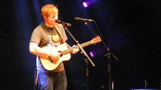 "Ed Sheeran's NEW song ""New York"" MSG 11/1 HQ"