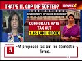 Live News: FM Nirmala Sitharaman live press conference, Address Media After 37th GST Meet | NewsX - Video