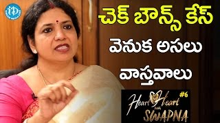 Jeevitha Reveals The Real Facts Behind The Check Bounce Case  Heart To Heart With Swapna