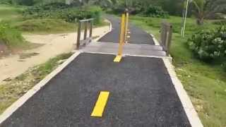 preview picture of video 'Paseo Lineal Costero, Isabela Puerto rico'